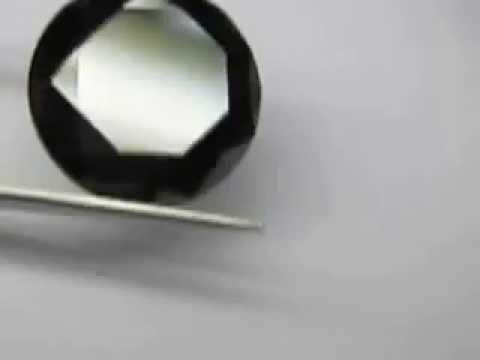 big size black diamond moissanite of high quality