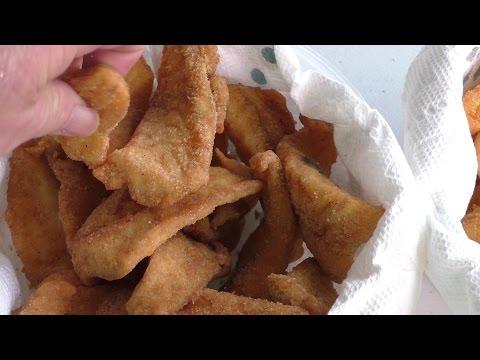 Fried Fish And Shrimp On R&V Cajun Fryer