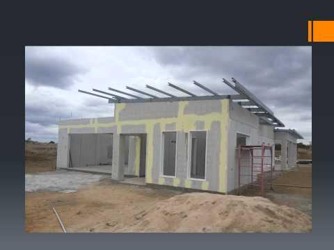 STORM PROOF HOUSE            Queensland Display under construction
