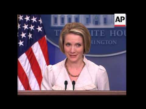 White House reax to Guantanamo torture claims, Gaza crisis