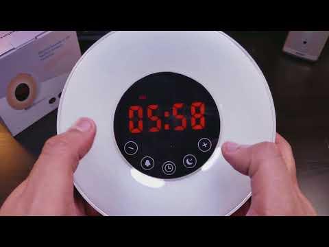 Sunrise Alarm Clock ⏰by Joyful Heart Best Wake Up Light