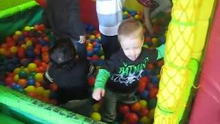 Hanging out in the Ball Pit