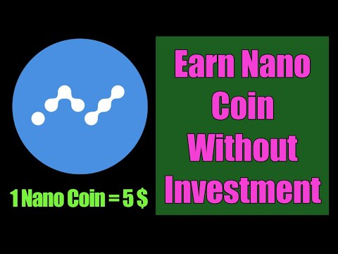 Earn Nano Coin Without Investment/how to earn cryptocurrency