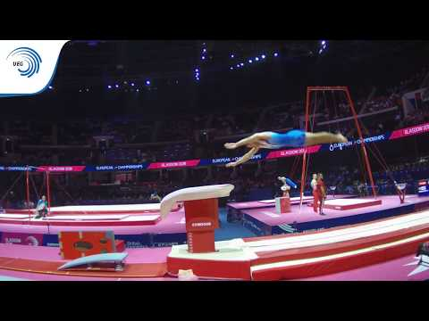 Anton KOVACEVIC (CRO) - 2018 Artistic Gymnastics Europeans, qualification vault
