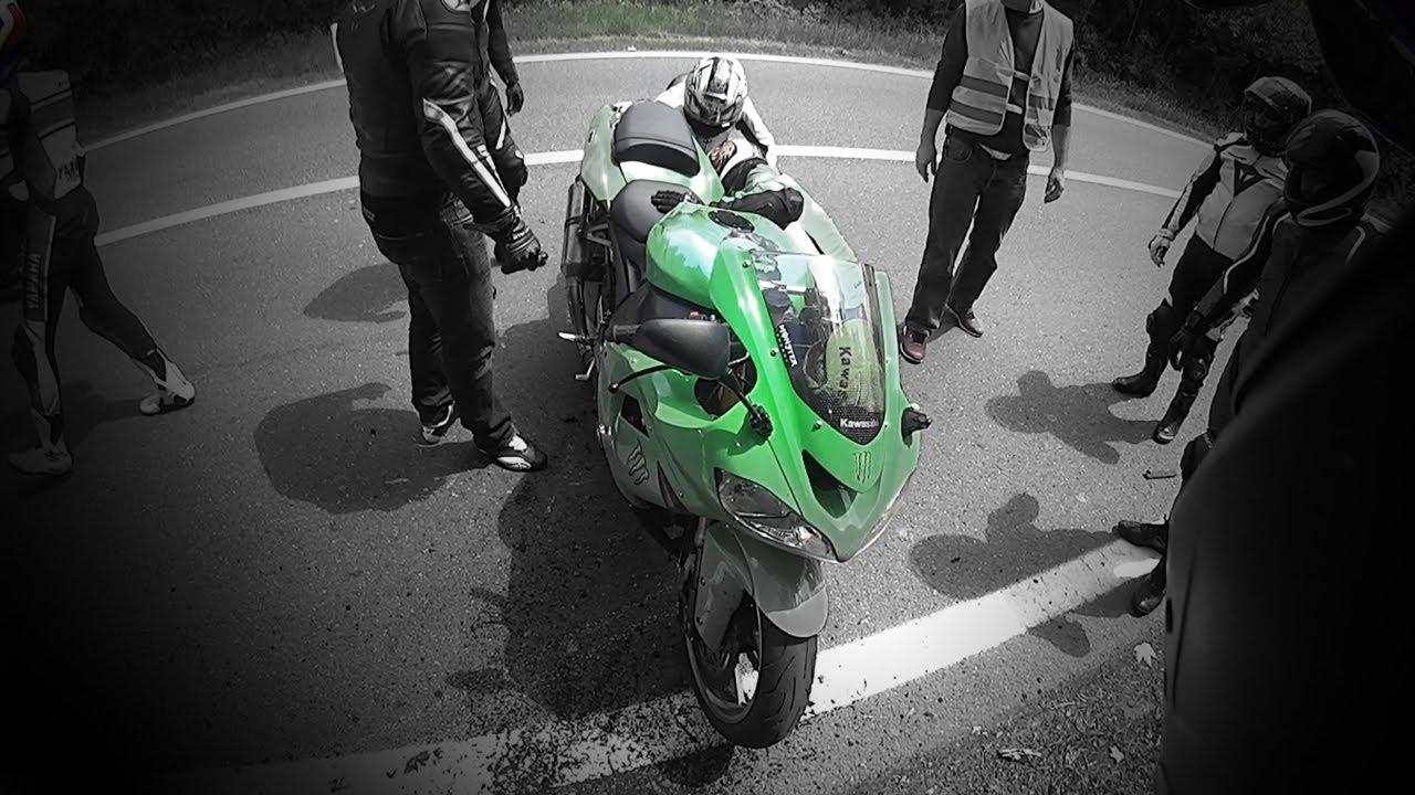 Kawasaki Ninja Zx10r Crash Cold Tires Youtube