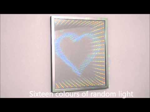 Infinity Mirror - Heart