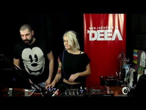 Livia Andrei b2b Nocturno in Groovy Magic la Radio DEEA