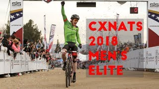 Crosshairs Television | 2018 U.S. Cyclocross Nationals Men's Elite