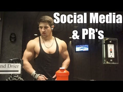 Massive Bench PR | How to make Social Media gains
