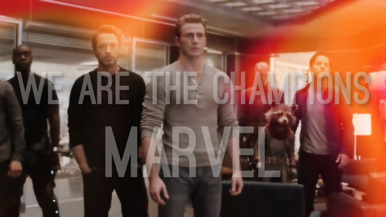 fb9bce17 Avengers Endgame - We Are The Champions - YouTube