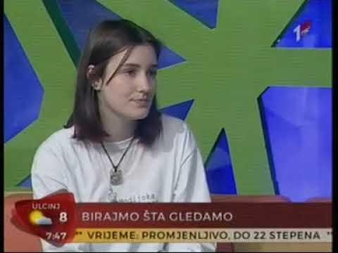 20. mart 2019. TVCG1, Kampanja Birajmo šta gledamo, gosti Milica Vujošević i Balša Božović