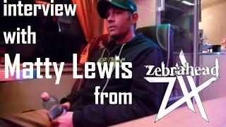 Zebrahead interview with Matty Lewis - Vienna, 2013
