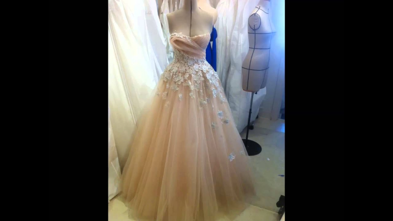 Steven Khalil/wedding gowns - YouTube