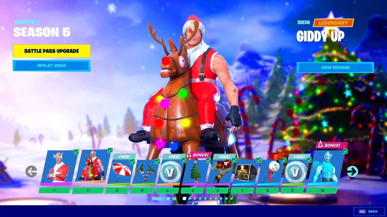 Fortnite Chapter 2 Season 5 Top 5 Leaks Hints At Winterfest 2020