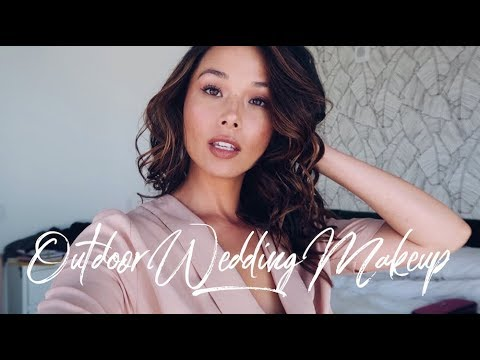 Fresh, Dewy Makeup Tutorial | Outdoor Wedding | Aja Dang thumbnail