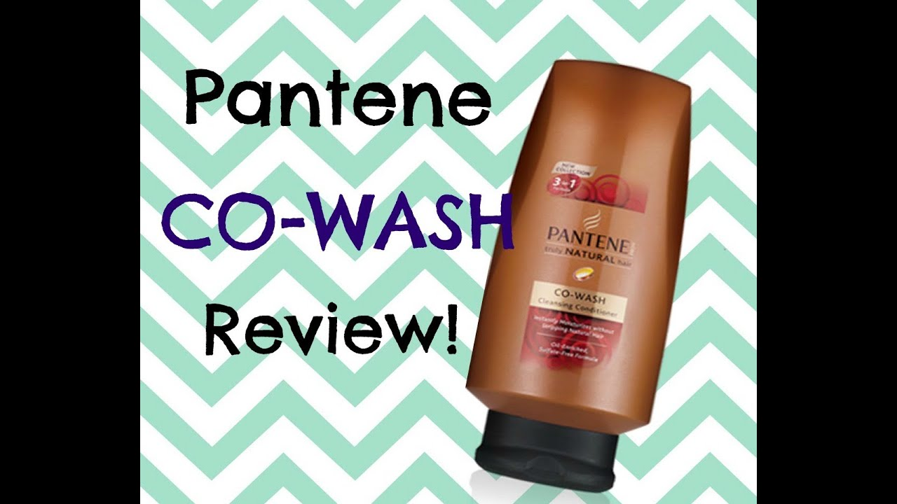 Natural Hair Review Pantene Co Wash Cleansing Conditioner