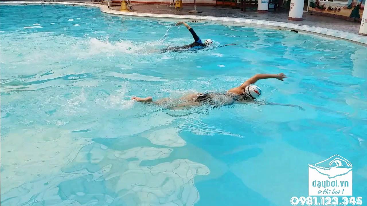 Dạy Bơi Cấp Tốc – Hướng Dẫn Chi Tiết Kỹ Thuật Quá Trình Tạo Lực Hoàn Thiện Trong Bơi Lội