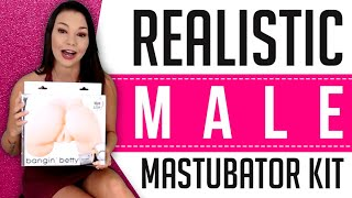 Adam and Eve Bangin Betty Stroker Kit | Male Masturbator Kit | Male Sex Toy Review
