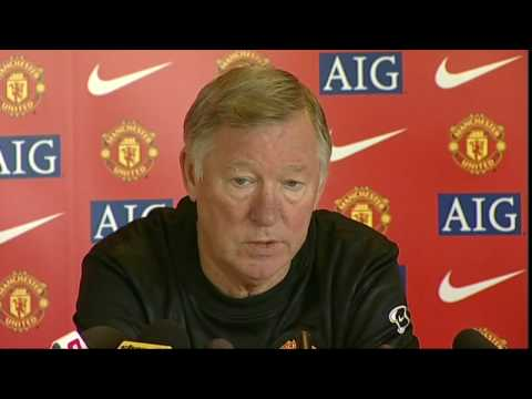 Sir Alex Ferguson talks about the return of Owen Hargreaves