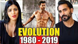 HRITHIK ROSHAN EVOLUTION (1980-2019)   REACTION!!