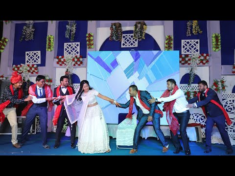 Bride With Brothers ||Palke Mein Hoke||Madhuri Dixit||Sangeet Dance Performance