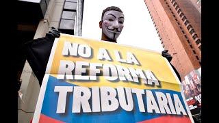 Protestas en Colombia contra reforma tributaria del gobierno de Iván Duque