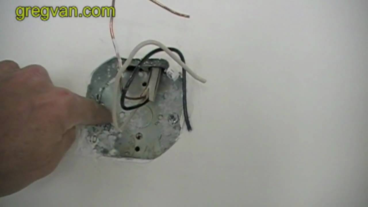 ground problem for electrical box electrician tips youtube. Black Bedroom Furniture Sets. Home Design Ideas