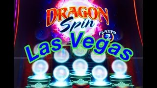 DRAGON SPIN SLOT MACHINE ! BONUS FEATURES AND JACKPOT WINS! LAS VEGAS! BY BALLY TECHNOLOGIES!