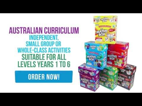 The Australian Curriculum Maths Box Series