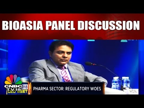 BioAsia 2018 CEO MEET   PANEL DISCUSSION   Tonic For an Eroding Market   CNBC TV18
