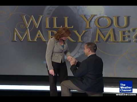 Marriage Proposal Live On-air
