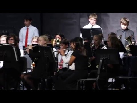 Serrano Intermediate School Winter Concert 2015