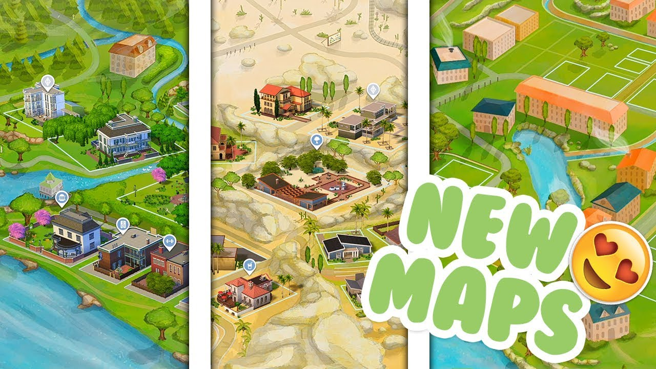 sims 4 world map download New World Maps Sims 4 Mods Youtube