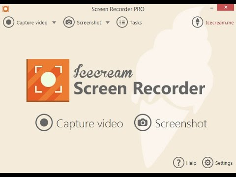 Icecream Screen Recorder