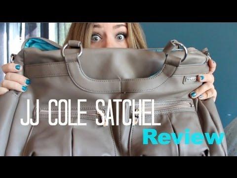 jj cole satchel diaper bag review youtube. Black Bedroom Furniture Sets. Home Design Ideas