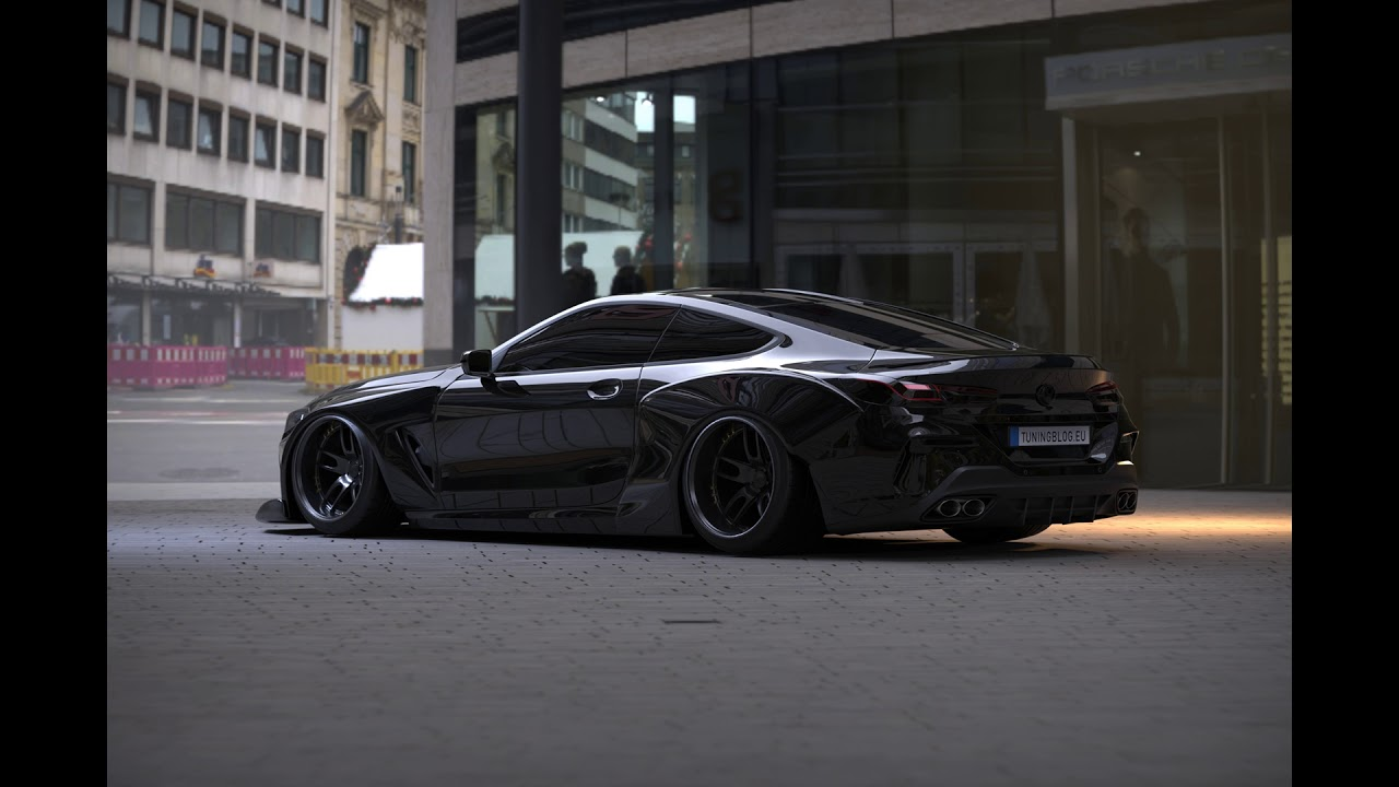 2019 Widebody Bmw M8 G15 With 900 Ps By Tuningblog