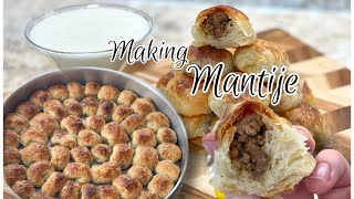 How to Make Maฑti I Making Mantije with Meat