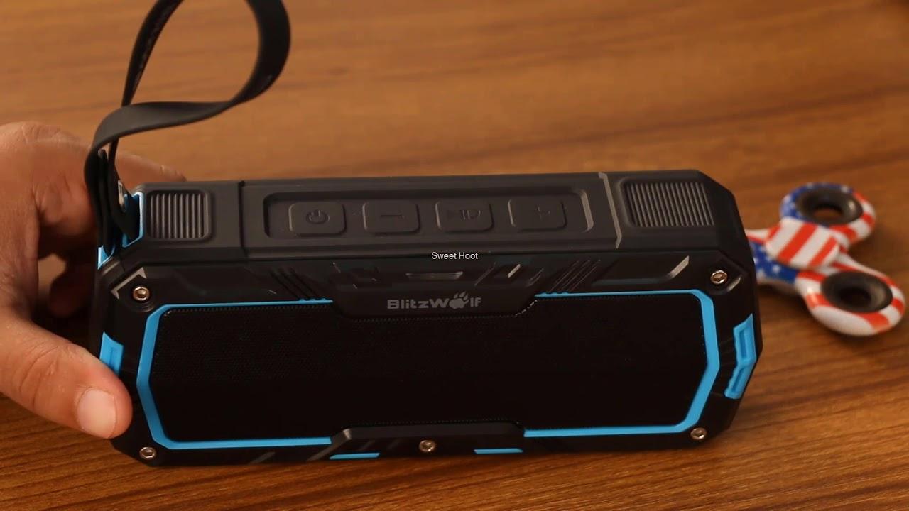 Blitzwolf BW F3 Waterproof Speaker Review 2018 | Best Bluetooth Speaker  Under 50