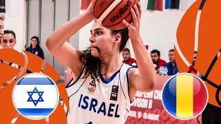 Israel v Romania - Full Game - FIBA U16 Women's European Championship Division B 2018