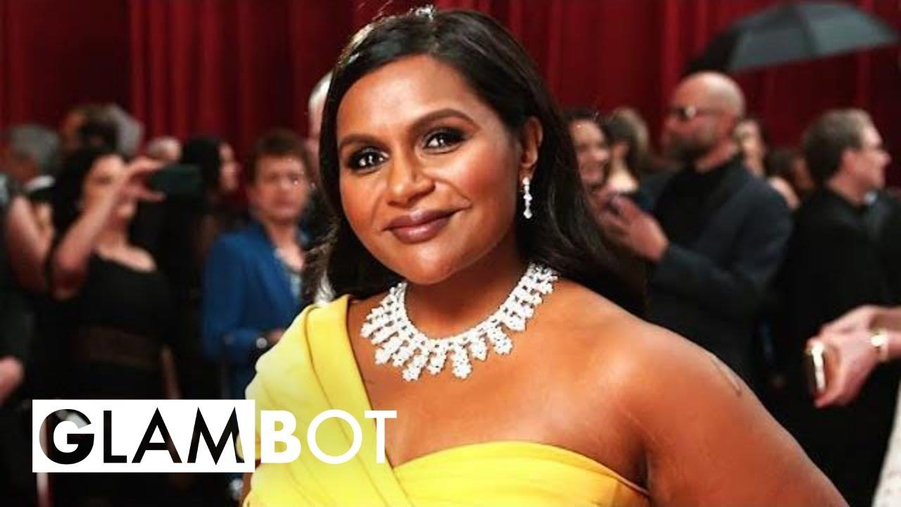 Mindy Kaling GLAMBOT: Behind the Scenes at Oscars