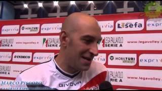 27-11-2013: Marco Piscopo nel post Molfetta-Perugia