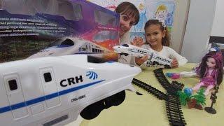 Oyuncak hızlı tren kutusu açtık, eğlenceli çocuk videosu, toys unboxing
