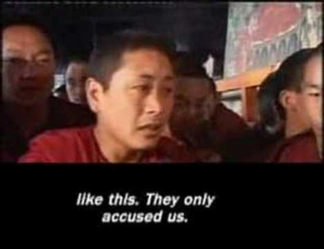 Reuters: Monks interrupt Tibet media Tour