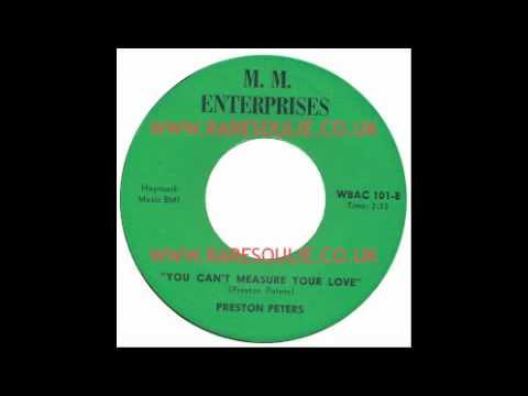 Preston Peters - You Can't Measure Your Love - M.M. Enterprises