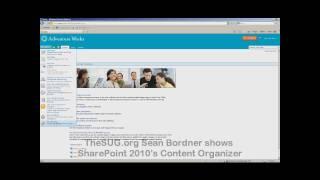 SharePoint 2010 Content Organizer