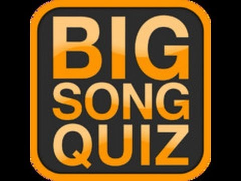 BIG SONG QUIZ - Stage 1 Answers 1-32 - YouTube