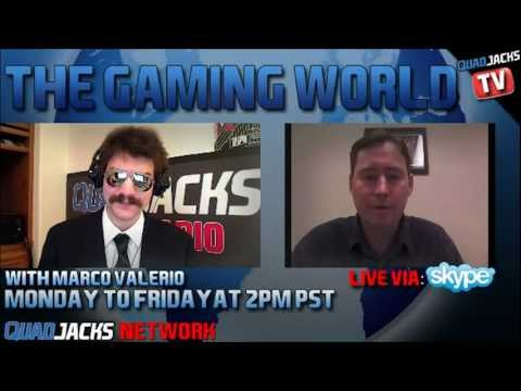 The Gaming World with John Mehaffey part 1/2 | Monday January 23 2012