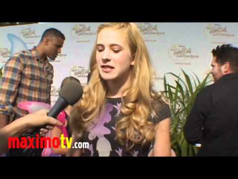 """Caroline Sunshine Interview at """"Tinker Bell And The Great Fairy Rescue"""" Screening"""