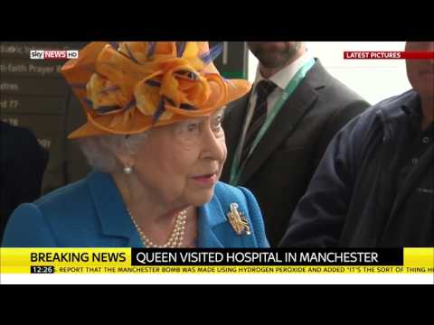 Manchester Attack: HM The Queen visits victims in hospital