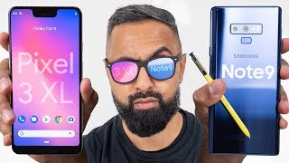 Pixel 3 XL vs Galaxy Note 9